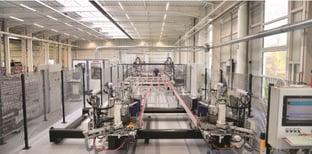 Die vernetzte Produktion der Schmidt GmbH. Gesteuert wird diese von A+W Cantor-Schnittstellen.