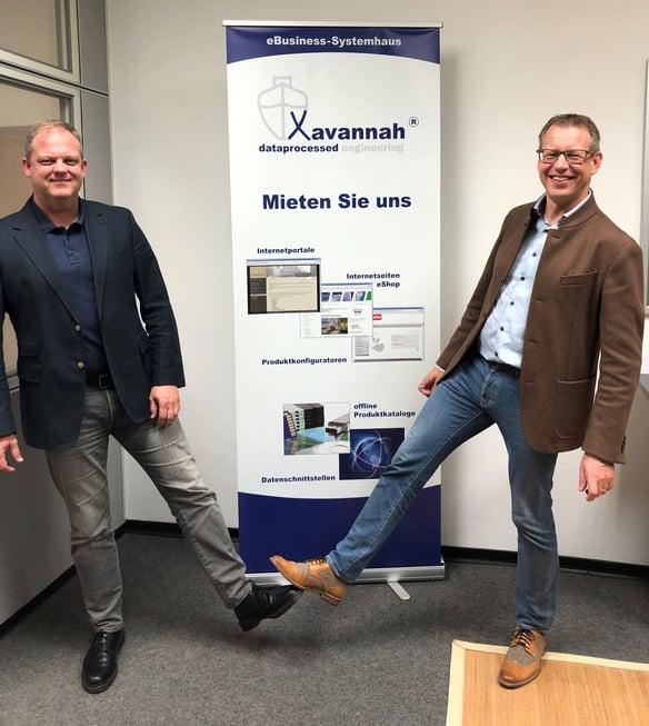 Denis Schmischke und Peter DIxen